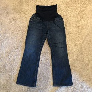 Motherhood maternity petite medium  bootcut jeans